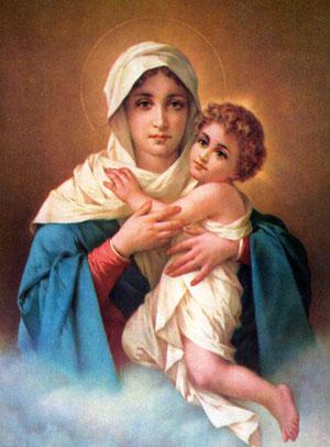 Maria Mutter Jesus